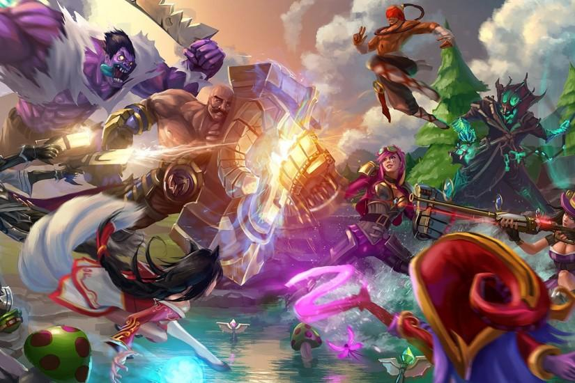 download league of legends wallpaper 1920x1080 for pc