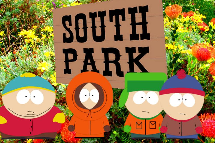 South Park wallpaper with characters