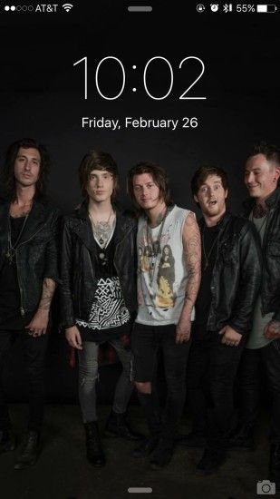 1920x1080 Asking Alexandria backdrop wallpaper