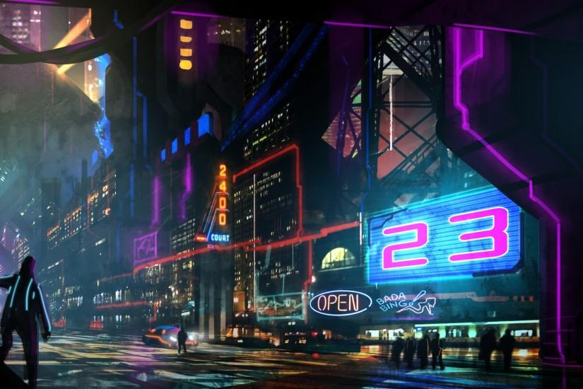 new cyberpunk wallpaper 1920x1080 720p