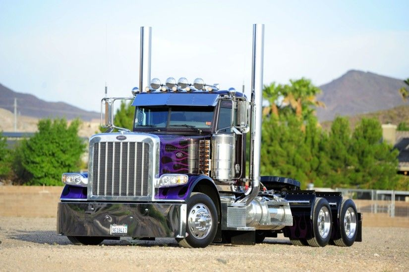 Semi Truck Background Download Free.