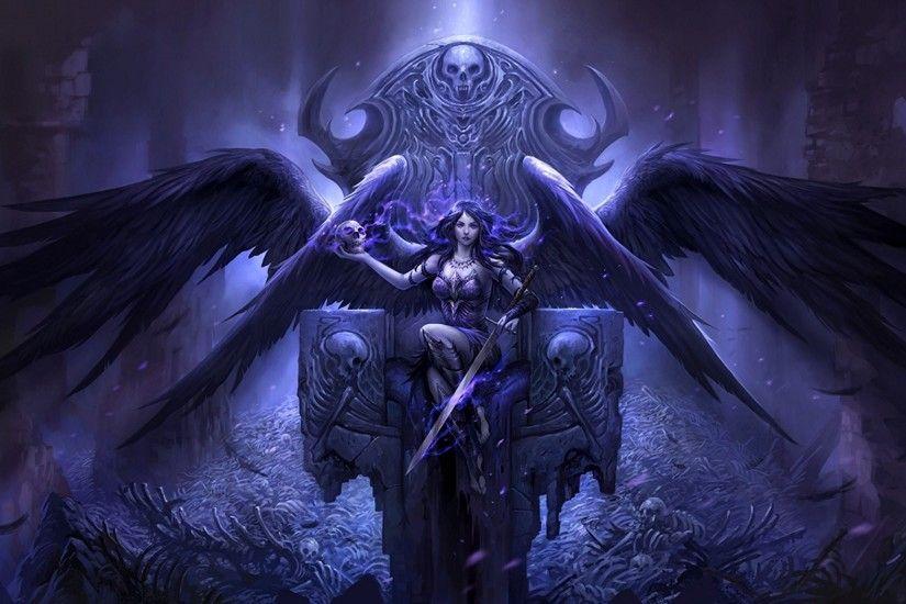 gothic skulls wallpaper  u00b7 u2460 wallpapertag