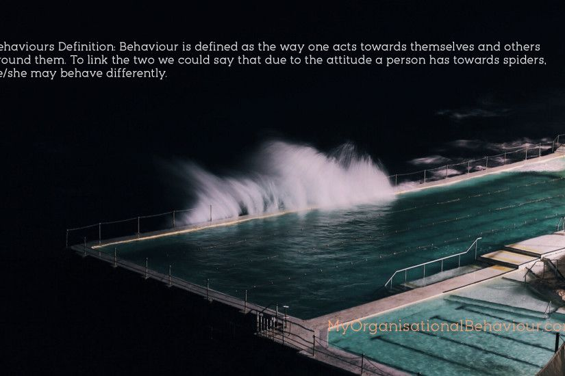 ... Behaviours in Organisations Wallpapers Attitudes ...