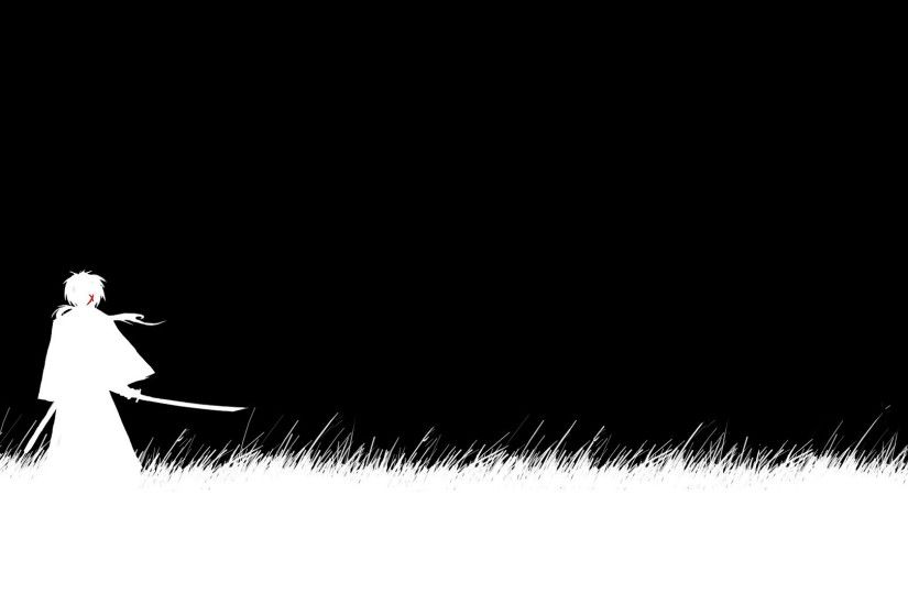 1920x1080 Black And White Samurai X Anime Wallpaper Pict #4339 Wallpaper |  High .