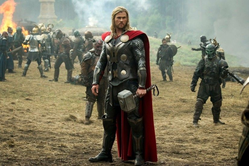 Thor, Thor 2: The Dark World, Mjolnir, Chris Hemsworth Wallpapers HD /  Desktop and Mobile Backgrounds