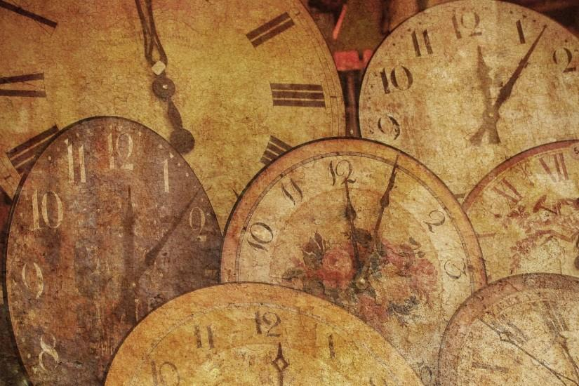 Arrow antique texture clock wallpaper desktop image vintage