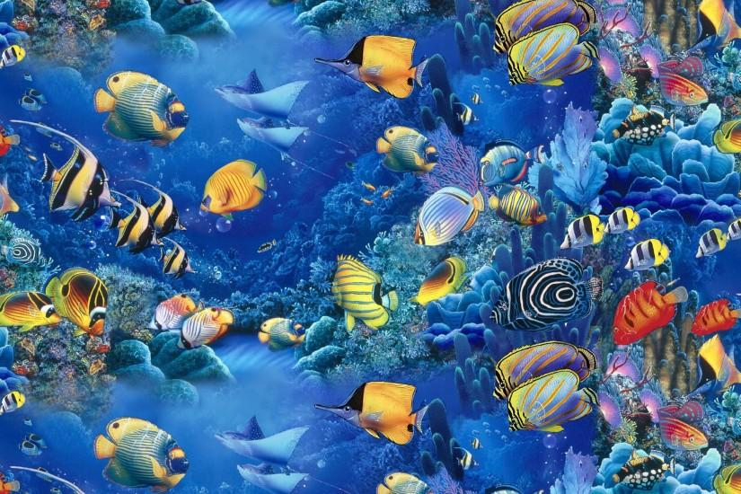 Colorful Fish | FISH OF THE SEA, COLORFUL, FISH, SEA