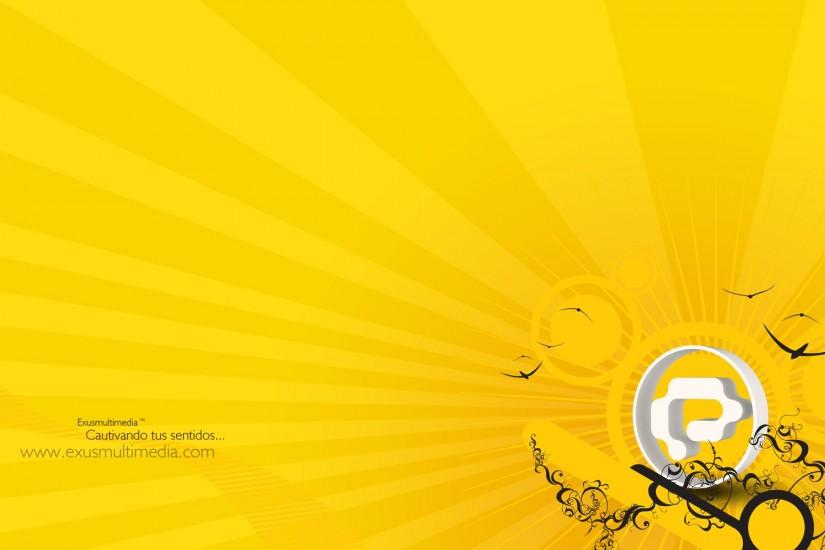 new yellow wallpaper 1920x1200