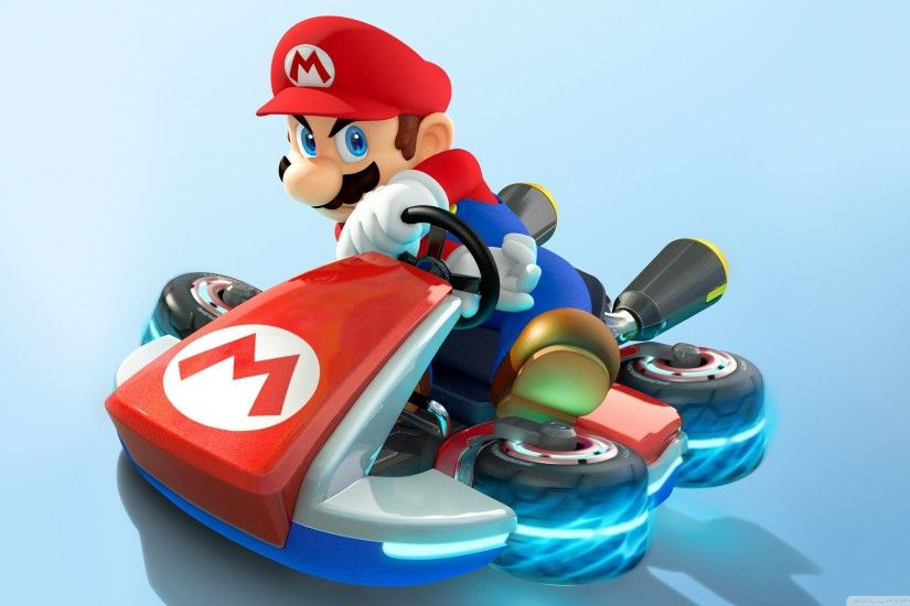 Mario Kart 8 - Mario HD Wide Wallpaper for Widescreen