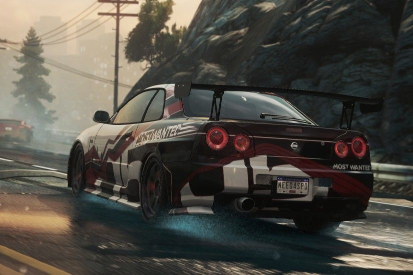 Preview wallpaper need for speed, nissan skyline gt-r, most wanted, 2012