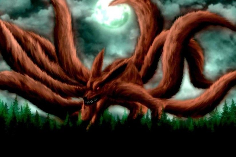 Naruto Nine Tails Hd Wallpaper - Viewing Gallery