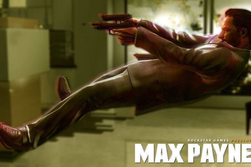 max payne 3 bullet time defense widescreen hd wallpaper