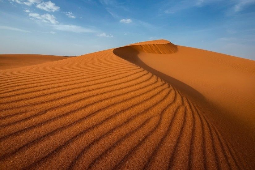nature, Landscape, Desert, Sand, Dune, Clouds, Shadow Wallpapers HD /  Desktop and Mobile Backgrounds