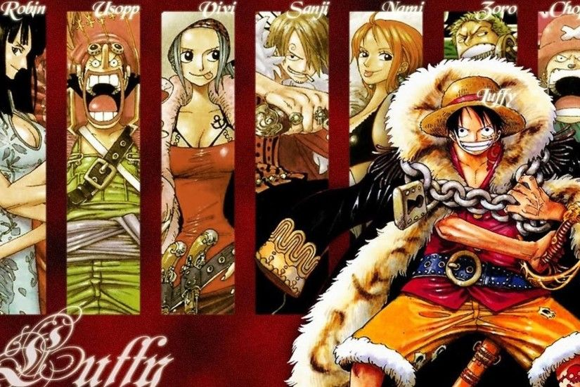 Group Of Straw Hat Crew Wallpaper
