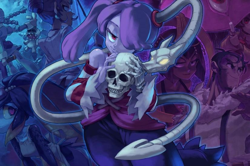 Skullgirls Art Gallery - Nemuri Guest Art by GIMarriedguy