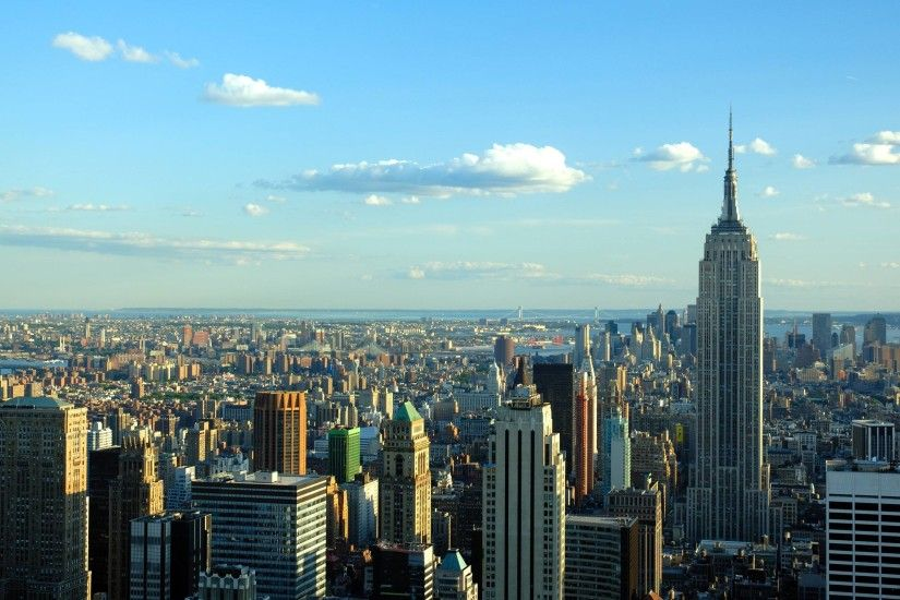 New York City Skyline Desktop Background #7776 | Frenzia.