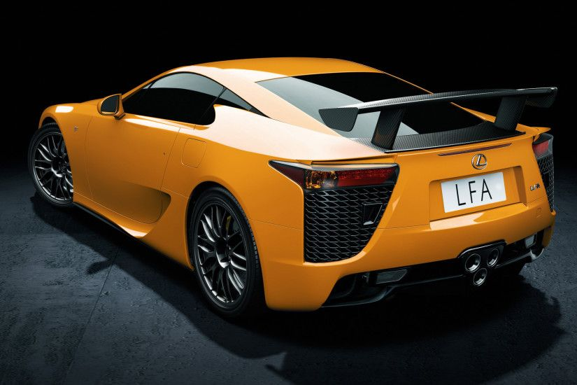 Lexus LFA Nurburgring Edition Supercars HD