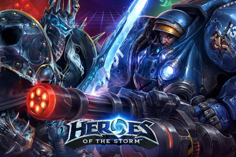 download heroes of the storm wallpaper 1920x1080