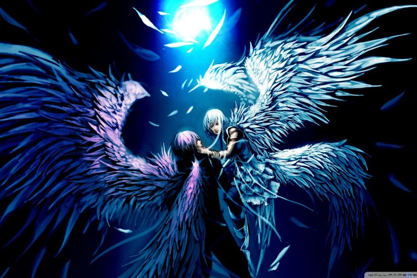 ... Cool Graffiti Angels Wallpapers Hd Two Angels Love Anime Hd Desktop  Wallpaper High Definition ...