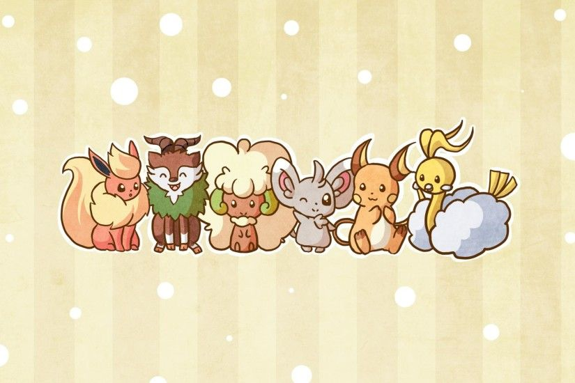 Cute Pokemon Wallpaper Android with HD Wallpaper Resolution 1920x1200 px  173.66 KB Anime Iphone Cute Starters