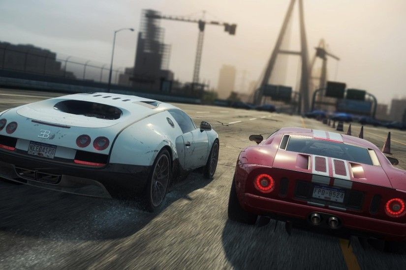 need for speed most wanted 2 bugatti veyron 16.4 super sport ford gt sports  cars race