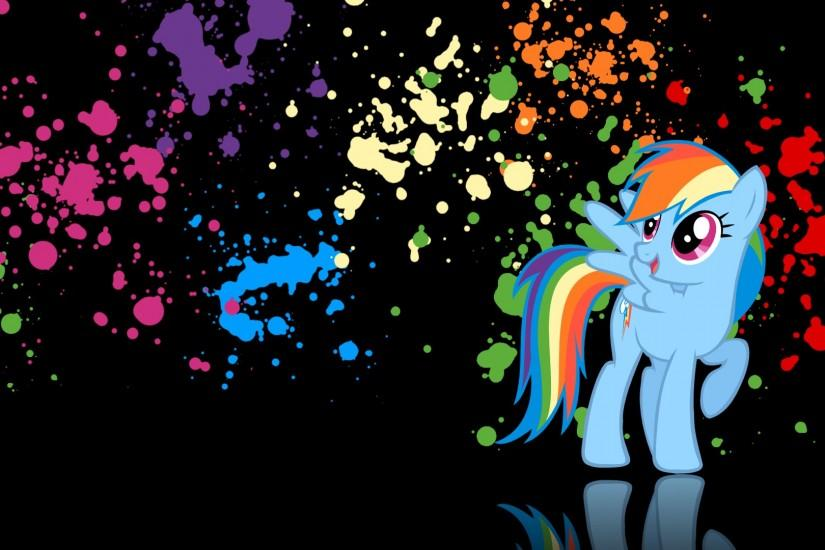free rainbow dash wallpaper 1920x1080 windows xp