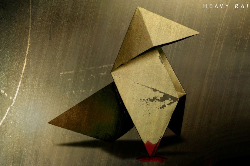 Wallpaper Heavy rain, Video game, Crane, Origami, Quantic dream HD,  Picture, Image