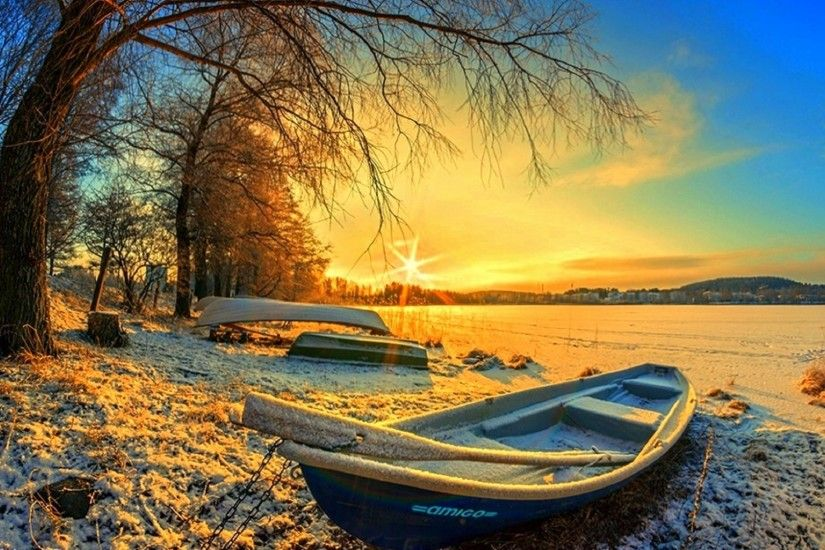 cool Finland Landscape Wallpaper- Download | Wallpapers ... nature,  Landscape, Winter, Sunrise, Lake, Forest, Snow, Morning .