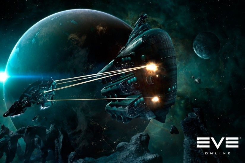 Video Game - EVE Online Planet Spaceship Space Wallpaper