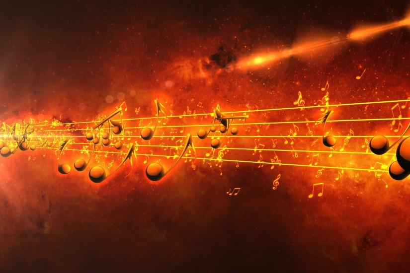 full size music notes background 3840x2160 free download