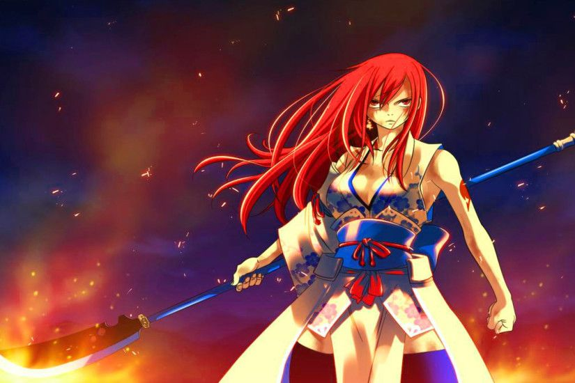 1600x1280 Anime Fairy Tail Erza Fairy Tail Wallpaper 1920×1080 #22848 HD  Wallpaper Res .