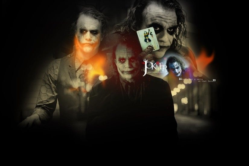 the joker heath ledger collage batman the dark knight 1280x800 wallpaper  Art HD Wallpaper