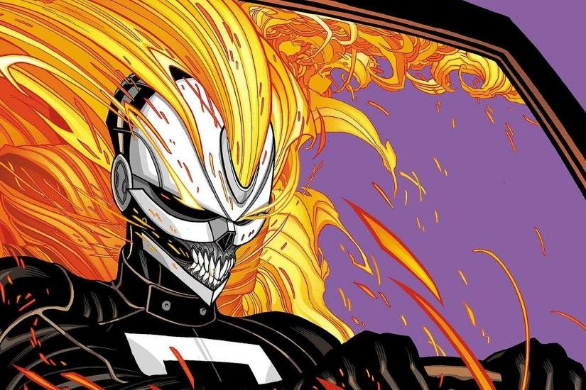 Comics - Ghost Rider Robbie Reyes All-New Ghost Rider Wallpaper