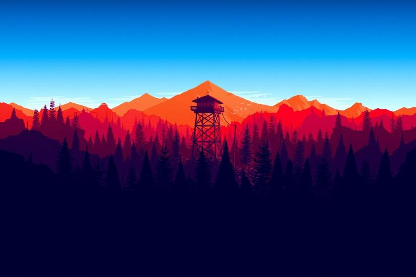new firewatch wallpaper 3840x2160 photos
