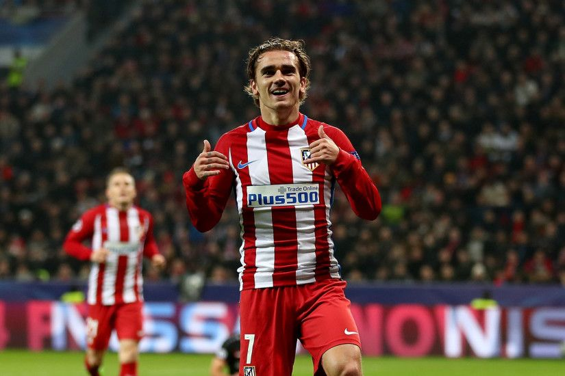 Atletico Madrid Striker Griezmann Wallpaper #4746 Wallpaper Themes .