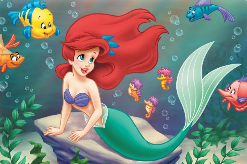 Princess Ariel The Little Mermaid Wallpaper
