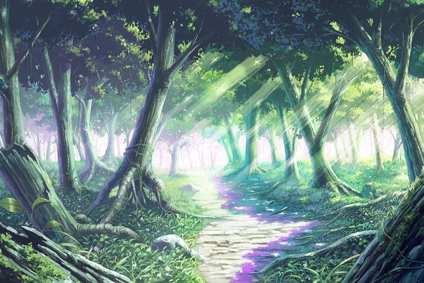 Enchanted Forest Backgrounds Wallpaper