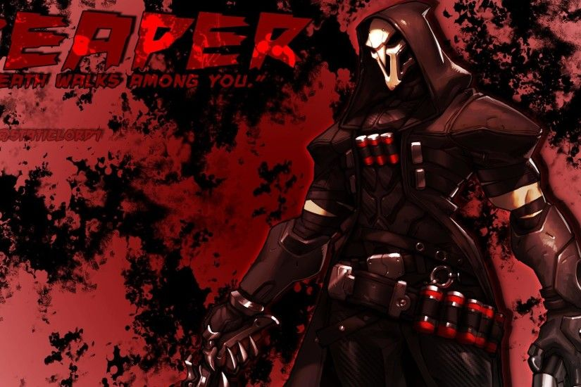 Reaper Overwatch Wallpaper. by staticlord1Jun 3 2016. Reaper Overwatch  Wallpaper Reaper Overwatch Wallpaper