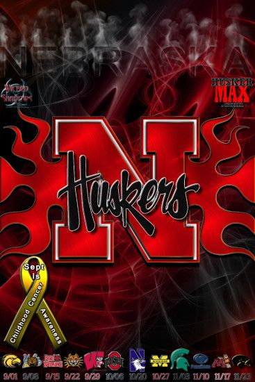 Stunning Nebraska Huskers Football Background