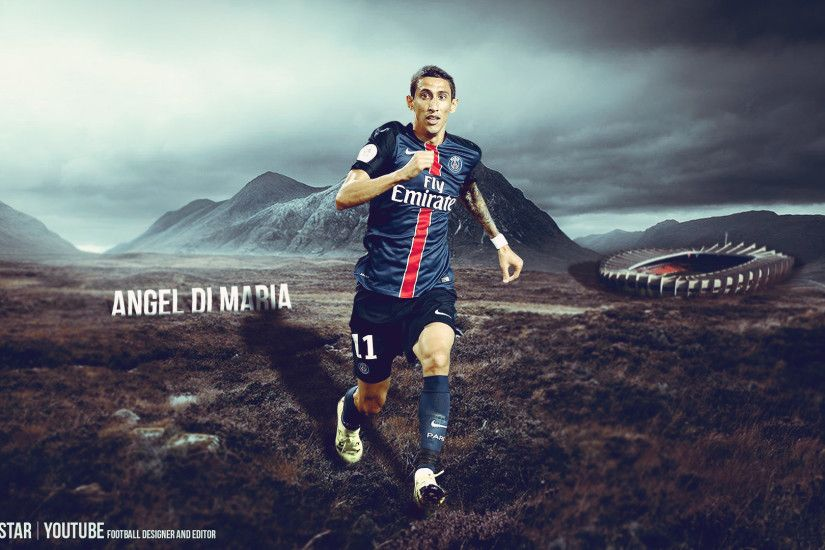 ... Angel Di Maria - New Challenge |2015/2016| PSG by eL-Kira