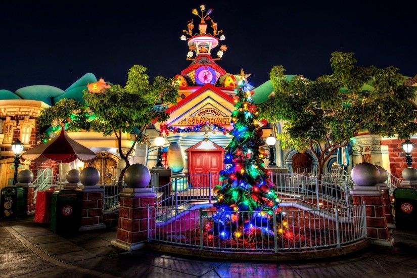 ... Disney Christmas Wallpapers Desktop - Wallpaper Cave ...