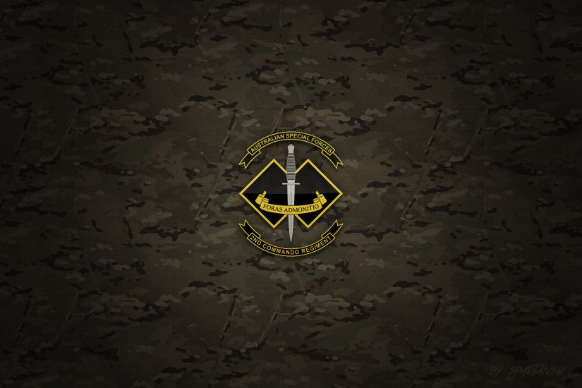 ... 2nd Commando Regiment Wallpaper by SpartanSix by SpartanSix