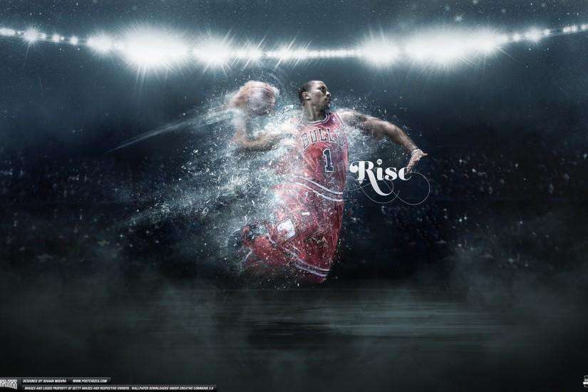 IshaanMishra 29 7 Derrick Rose Wallpaper by IshaanMishra