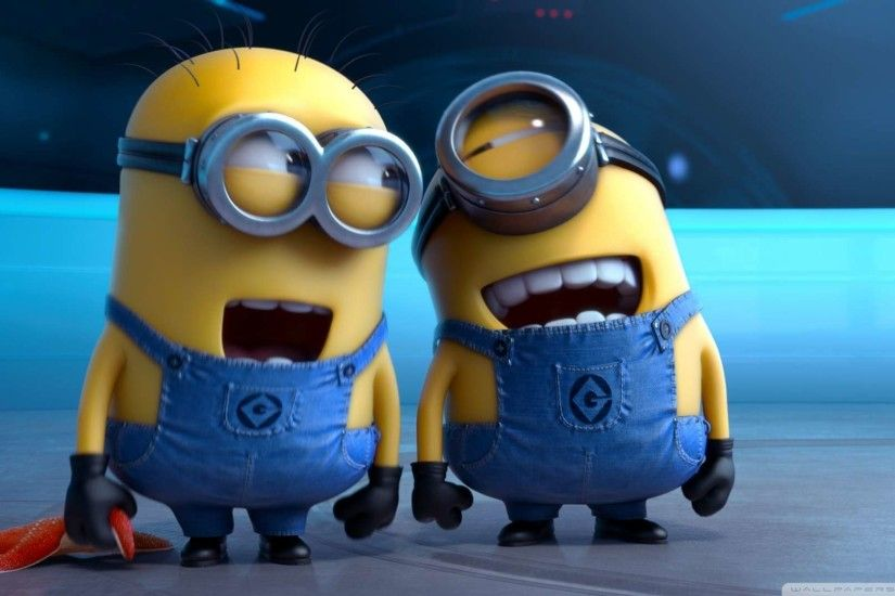 HD Wallpapers 1080P | ... Me 2 Laughing Minions Wallpaper 1080p HD at 1920
