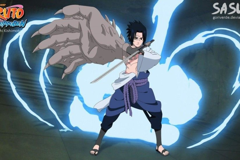 1920x1080 Wallpapers For > Uchiha Sasuke Chidori Wallpaper