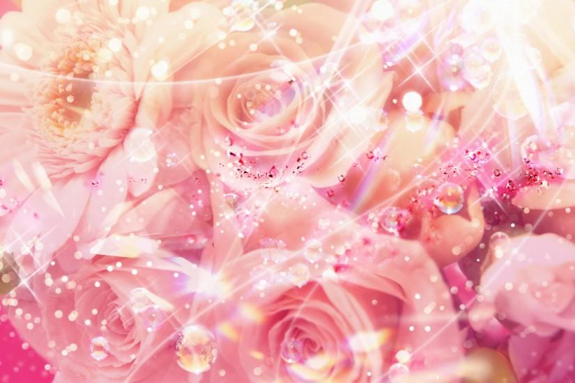 large flowers background 1920x1200