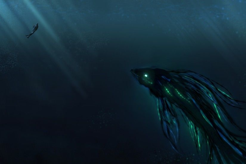 Creative Graphics / Deep Sea Wallpaper