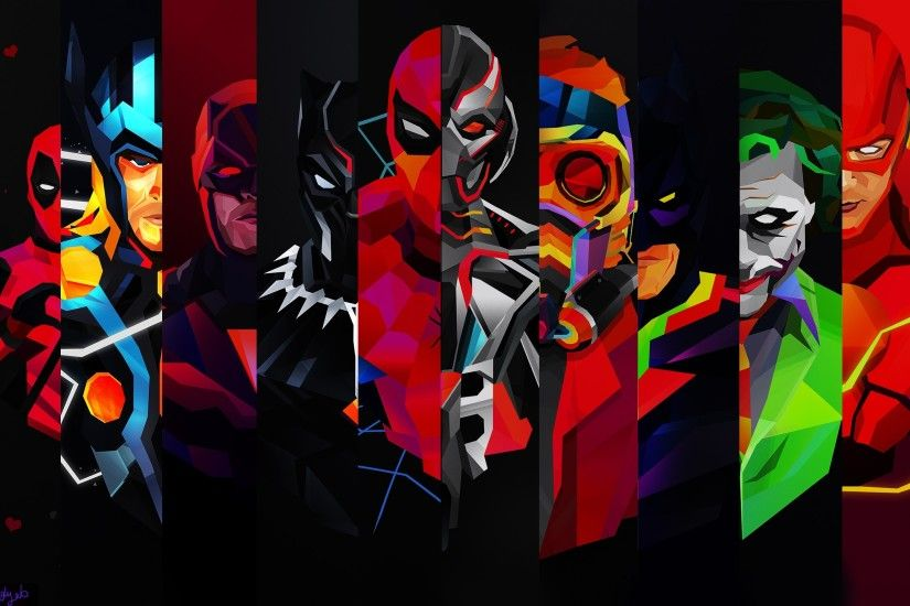 Cool Superhero Wallpapers – 705204