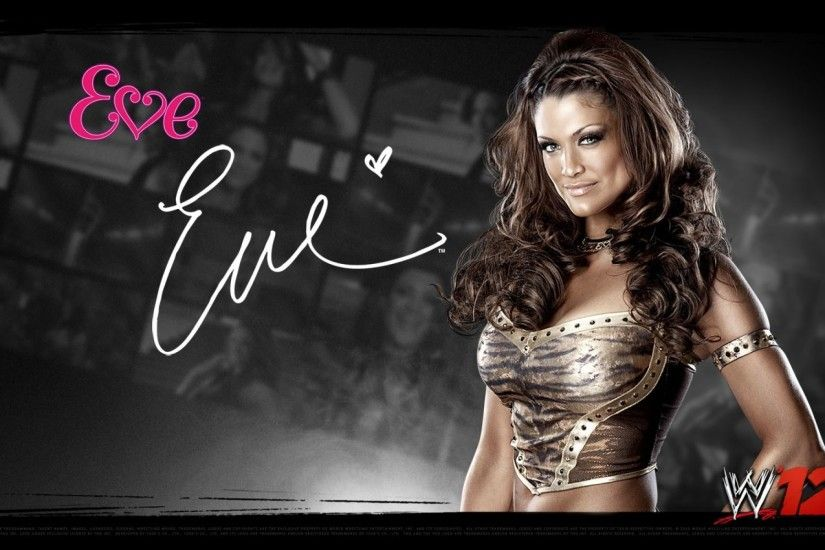 WWE Divas - WWE Eve HD Desktop Wallpaper