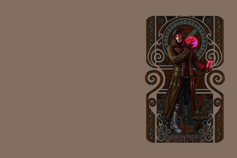 Men Gambit Wallpaper 1920x1080 XMen, Gambit, Artwork